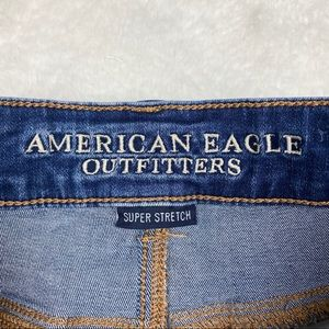 American Eagle Outfitters Shorts - American Eagle Distressed Ripped Midi Short